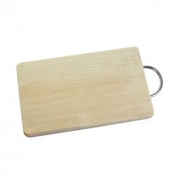 Prkénko dřevo/kov 14,5x23,5