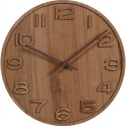 Nástěnné hodiny dřevěné VI
