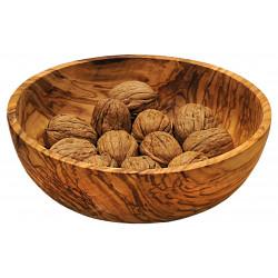 Miska z olivového dřeva - 18 cm