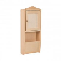 Dřevěná skříňka na klíče a dopisy