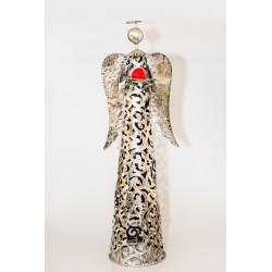 Svícen Anděl, 90x22 cm, kov