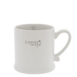 Hrnek COFFEE CRUSH, šedá, 200 ml