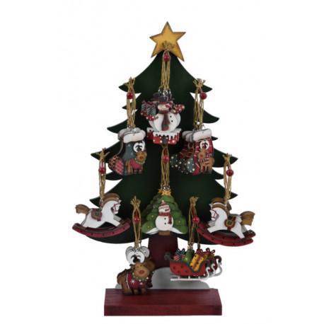 Ozdoba vánoční, mix motivů, ASS