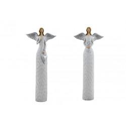 Anděl Anna, bílá, 29 cm, ASS