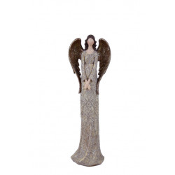 Anděl Bea, hnědá, stojící, 31 cm, ASS