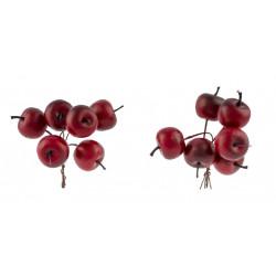 Dekorace jablka ve svazku
