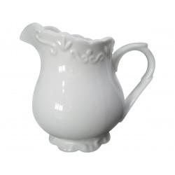 Džbánek na mléko provence, 250 ml, bílá