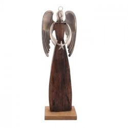 Anděl Puri s hvězdou, dřevo
