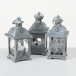 Lucerna mini, šedá, ASS