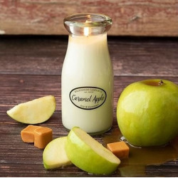 MILKHOUSE CANDLE Caramel Apple vonná svíčka MILKBOTTLE (227 g)