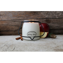MILKHOUSE CANDLE Holiday Home vonná svíčka BUTTER JAR 2-knotová (454 g)