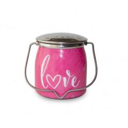 MILKHOUSE CANDLE Love vonná svíčka BUTTER JAR 2-knotová (454 g)