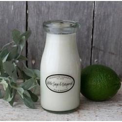 MILKHOUSE CANDLE White Sage & Bergamot vonná svíčka MILKBOTTLE (227 g)