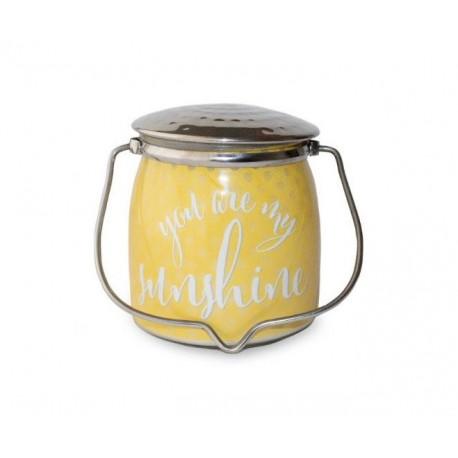 MILKHOUSE CANDLE You Are My Sunshine  vonná svíčka BUTTER JAR 2-knotová (454 g)
