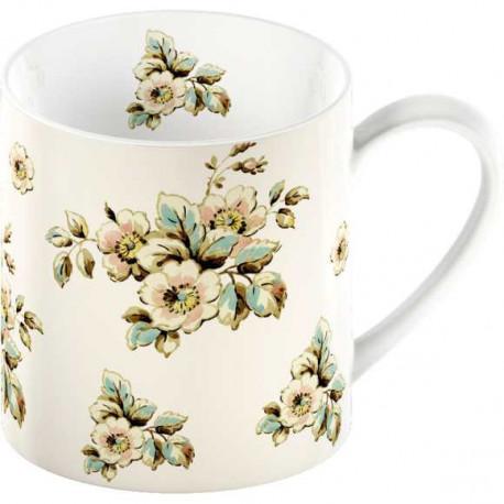 Porcelánový hrnek Cream Cottage Flower