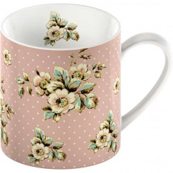 Porcelánový hrnek Pink Cottage Flower