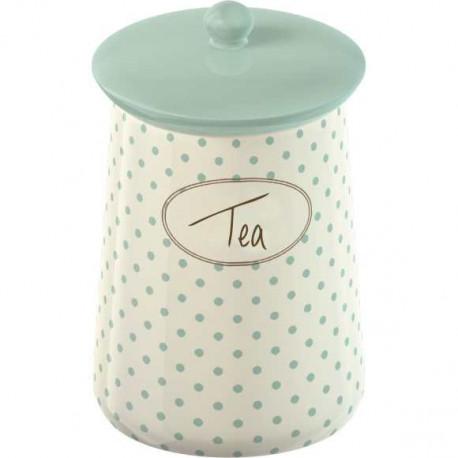 Keramická dóza na čaj Cottage Flower