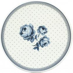 Porcelánový talíř na dorty Floral