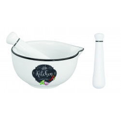 Porcelánový hmoždíř Kitchen Basic
