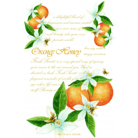 Vonný sáček Orange And Honey