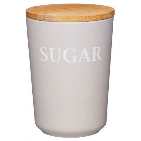 Dóza na cukr z bambusového vlákna