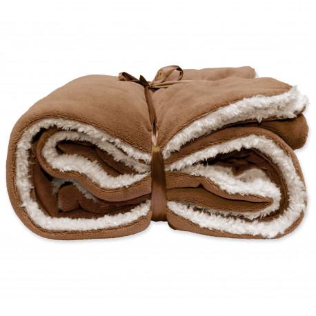 Zimní deka Lars oříšková hnědá