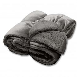 Teplý zimní pléd Jonas tmavě šedý