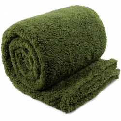 Extra teplá deka Teddy avokádově zelená