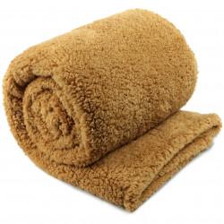 Extra teplá deka Teddy medová