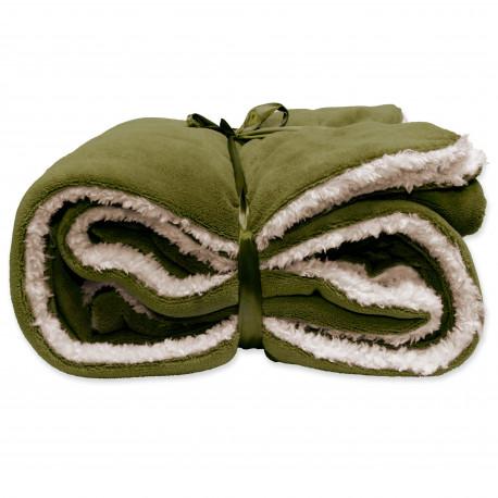 Zimní deka Lars avokádově zelená