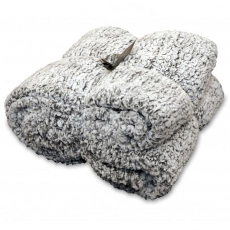 Oboustranná deka Knut tmavě šedá