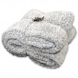 Oboustranná deka Knut šedá