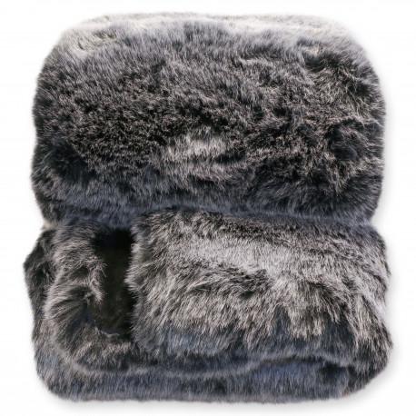 Chlupatá deka Oakville šedá