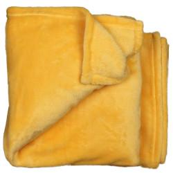 Elegantní deka Claudi žlutá