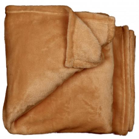 Elegantní deka Claudi hnědá
