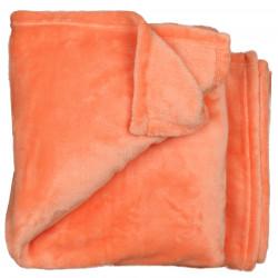 Elegantní deka Claudi oranžová