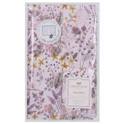 Zápisník s vonným sáčkem Lavender