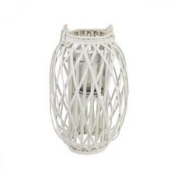 Dekorace na svíci bílá