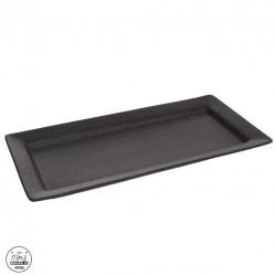 Tác porc. servír. 30x14x2,5 cm BLACK
