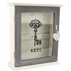 Box na klíče, skříňka na klíče prosklená