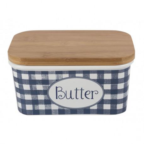 Dóza na máslo Vintage Indigo