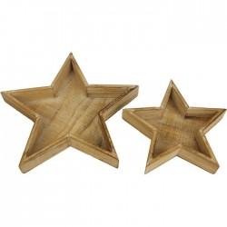 Podnos hvězda, 2ks
