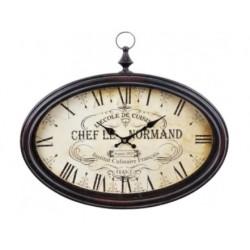 Nástěnné hodiny CHEF LE NORMAND