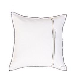 Povlak na polštář HAPPY HOME, bílá, 50x50 cm