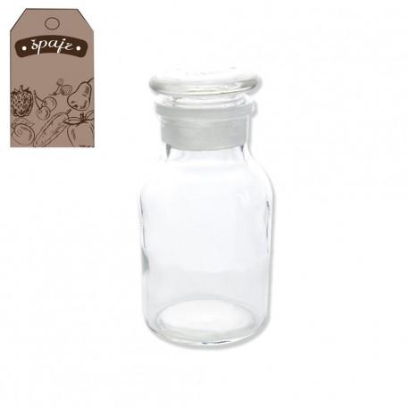 Dóza sklo+víčko APOTHEK 0,25l