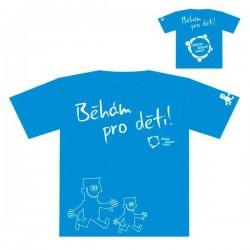 Pánské tričko Běhám pro děti