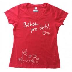 Funkční tričko COLUMBIA dámské Běhám pro děti.
