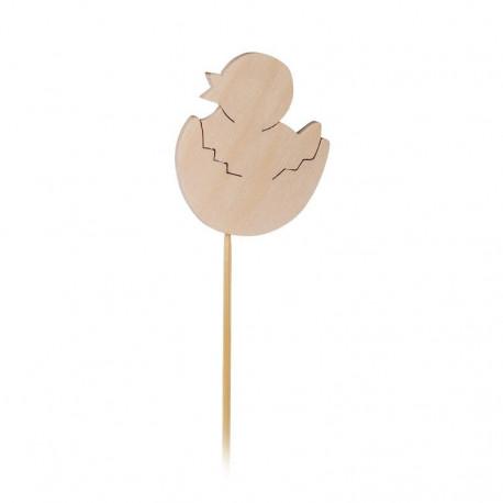 Zapichovátko do květináče - kuřátko