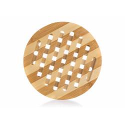Kulatá bambusová podložka pod hrnec - 18 cm