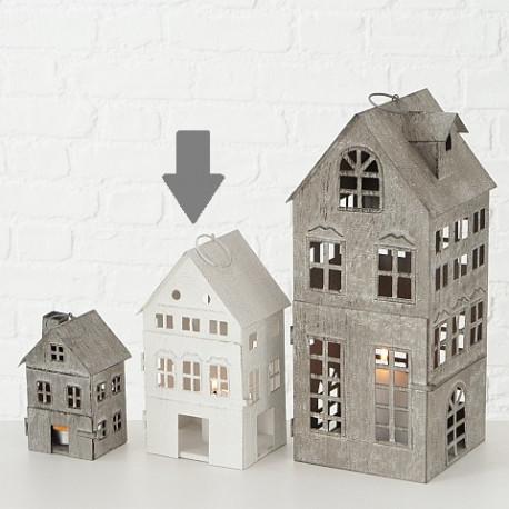 Domek lucerna, střední, bílá